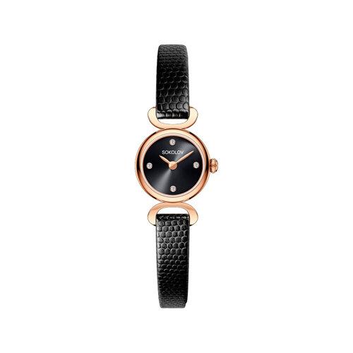 Женские золотые часы (212.01.00.000.03.01.3) - фото №2
