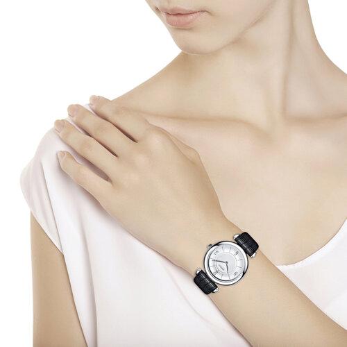Женские серебряные часы (105.30.00.000.03.01.2) - фото №3