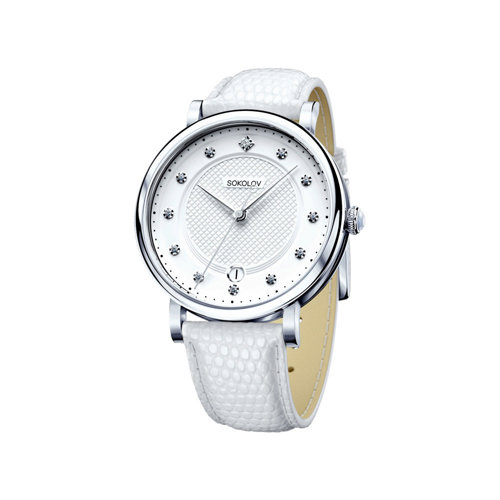 Женские серебряные часы (103.30.00.000.04.02.2) - фото