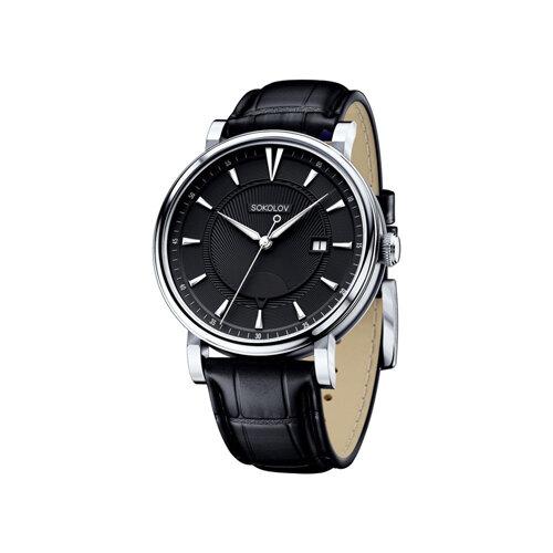 Мужские серебряные часы (101.30.00.000.05.01.3) - фото