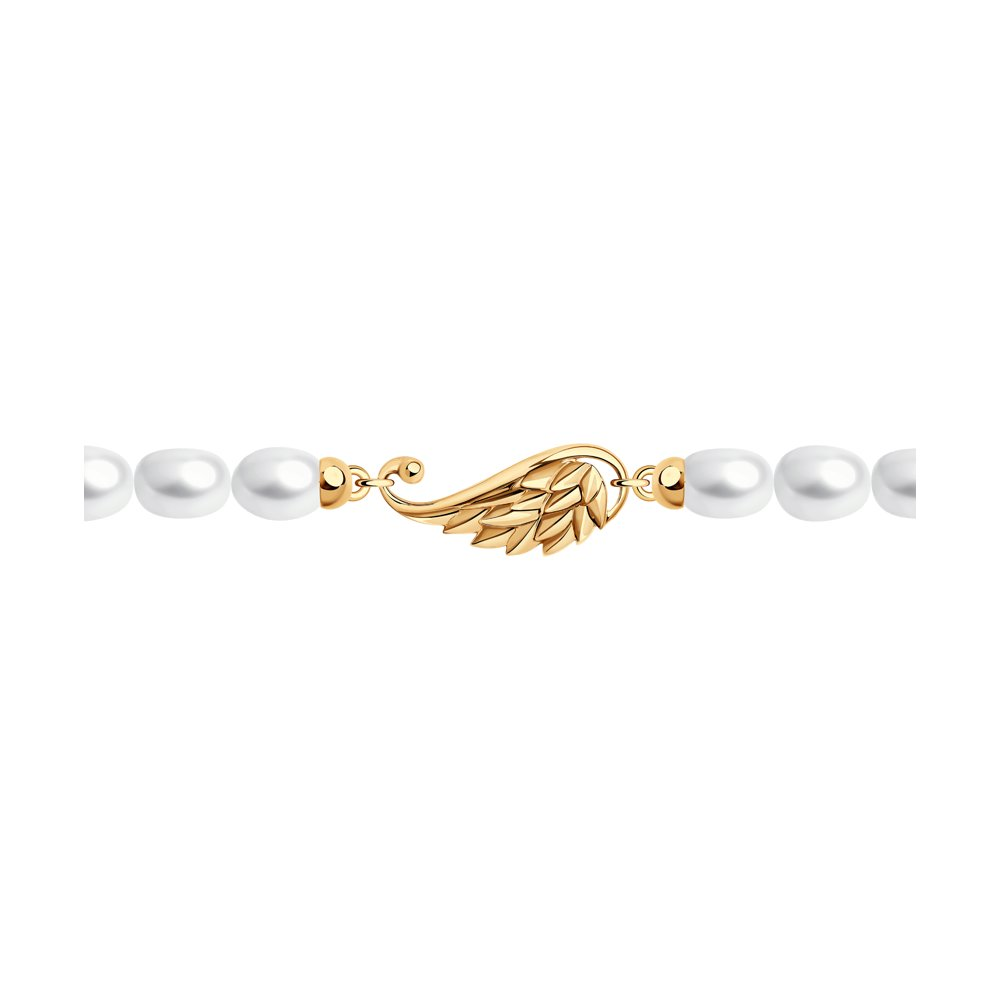 Браслет SOKOLOV из золота с жемчугом браслет из золота с жемчугом