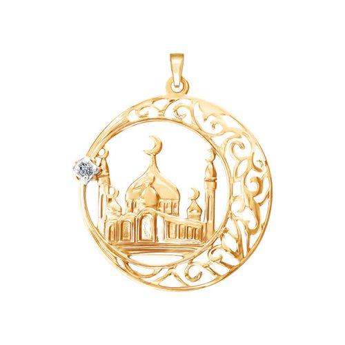 Мусульманская подвеска из золота