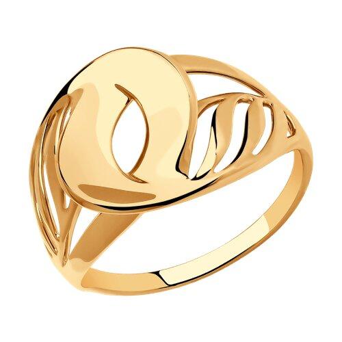 Кольцо из золота (018583) - фото