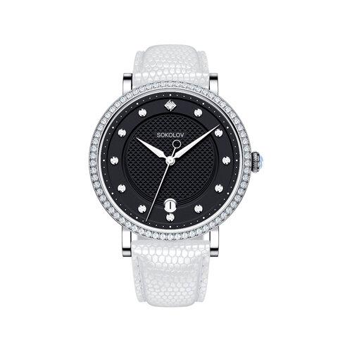 Женские серебряные часы (102.30.00.001.05.02.2) - фото №2