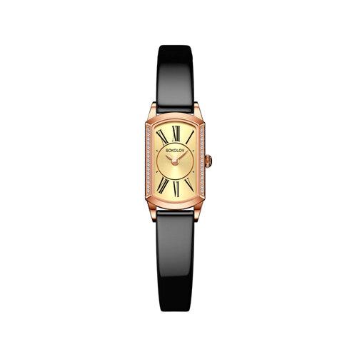 Женские золотые часы (222.01.00.001.02.05.3) - фото №2