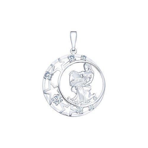 Подвеска «Знак зодиака Водолей» SOKOLOV