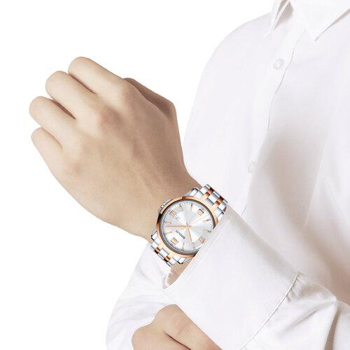 Мужские стальные часы (301.76.00.000.04.02.3) - фото №3