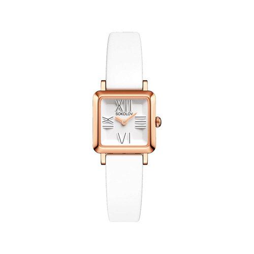 Женские золотые часы (231.01.00.000.01.05.2) - фото №2