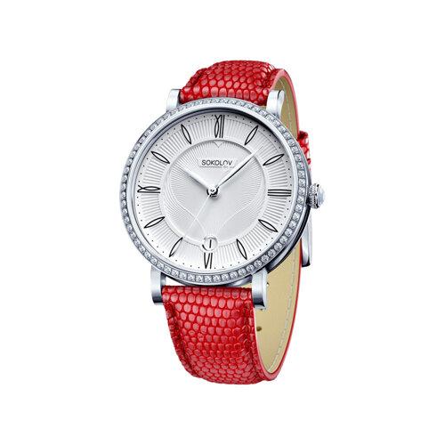 Женские серебряные часы SOKOLOV цена и фото