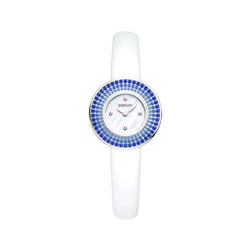 Женские серебряные часы (128.30.00.007.01.02.2) - фото №2