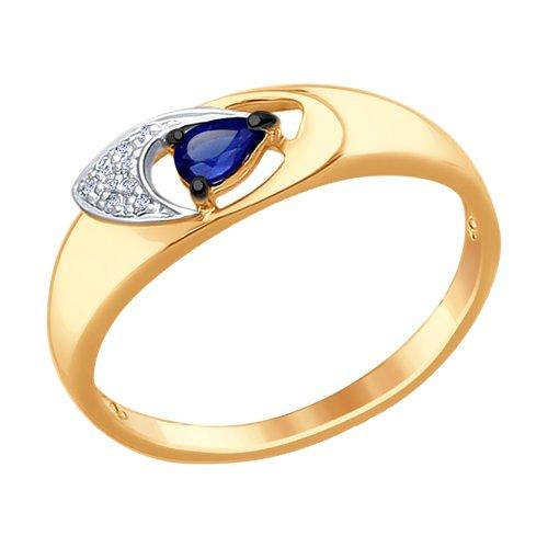Кольцо из золота (6012086) - фото