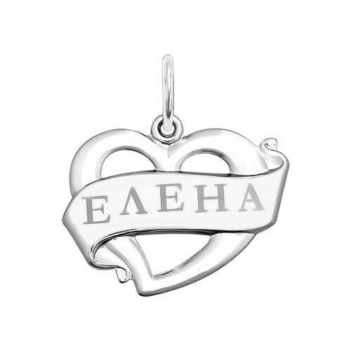 Фото - Подвеска «Елена» SOKOLOV из серебра с лазерной обработкой подвеска лариса sokolov из серебра с лазерной обработкой