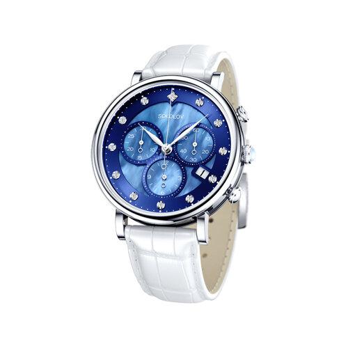 Женские серебряные часы (126.30.00.000.05.02.2) - фото
