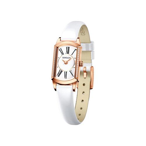 Женские золотые часы (222.01.00.001.01.06.3) - фото