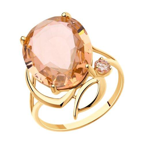 Кольцо из золота (715754) - фото