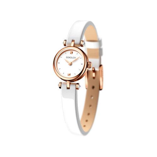 Женские золотые часы (215.01.00.000.01.06.2) - фото