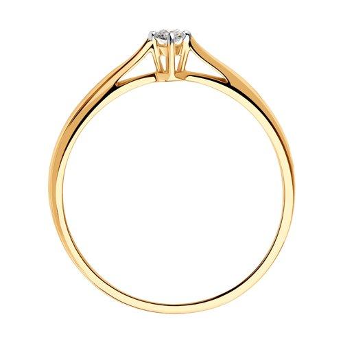 Помолвочное кольцо с бриллиантом 1011497 SOKOLOV фото 2