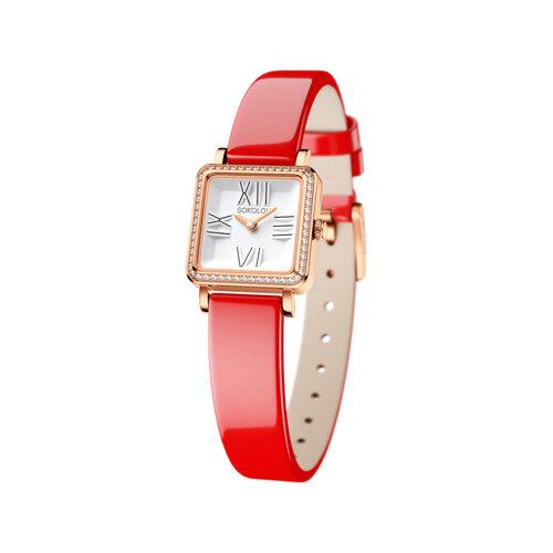 Женские золотые часы (232.01.00.100.01.06.2) - фото