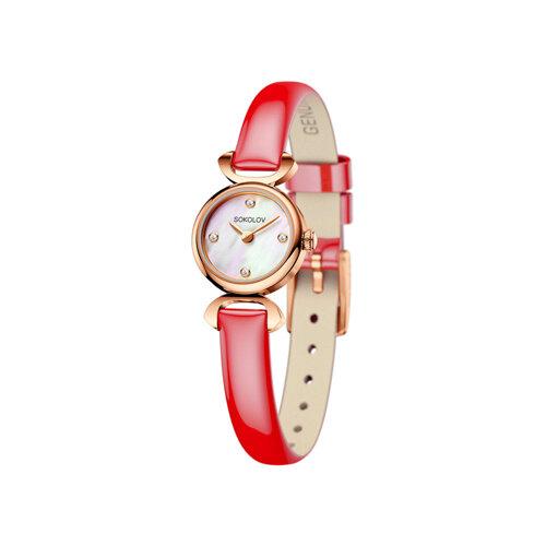 Женские золотые часы (212.01.00.000.01.07.3) - фото