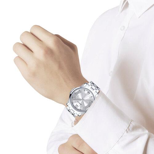 Мужские стальные часы  (301.71.00.000.01.01.3) - фото №3