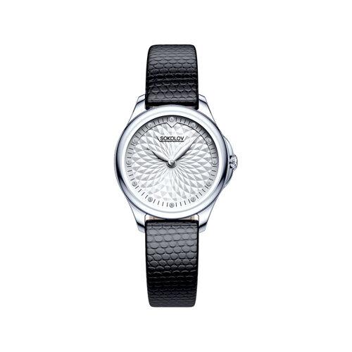 Женские серебряные часы (136.30.00.000.03.01.2) - фото №2