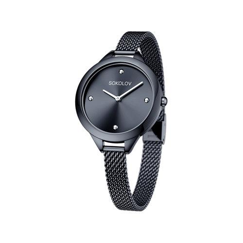 Женские стальные часы (306.75.00.000.04.03.2) - фото