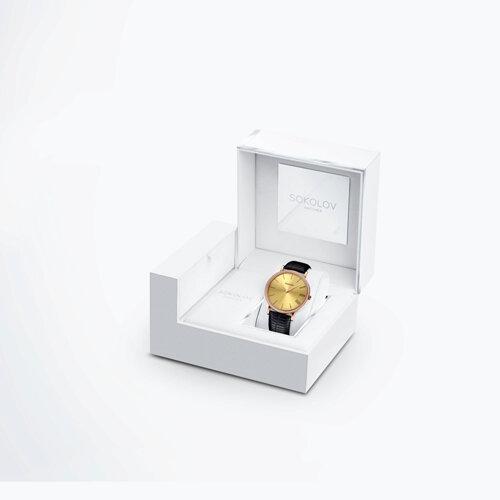 Женские золотые часы (210.01.00.001.03.01.2) - фото №4