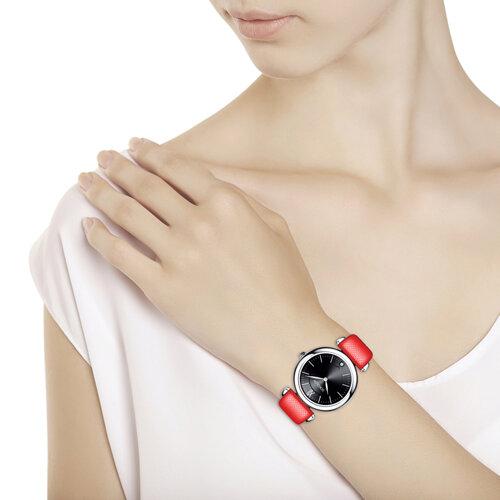 Женские серебряные часы (105.30.00.000.02.03.2) - фото №3