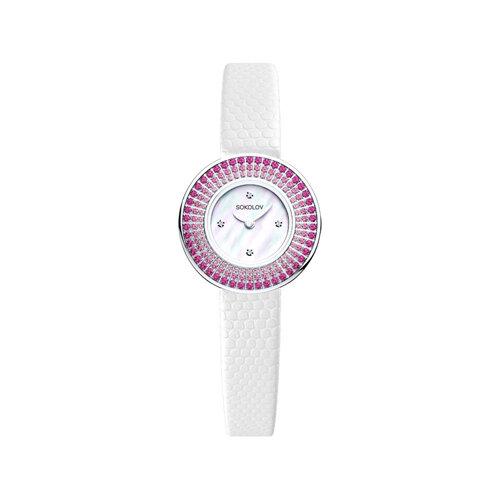 Женские серебряные часы (128.30.00.006.01.01.2) - фото №2