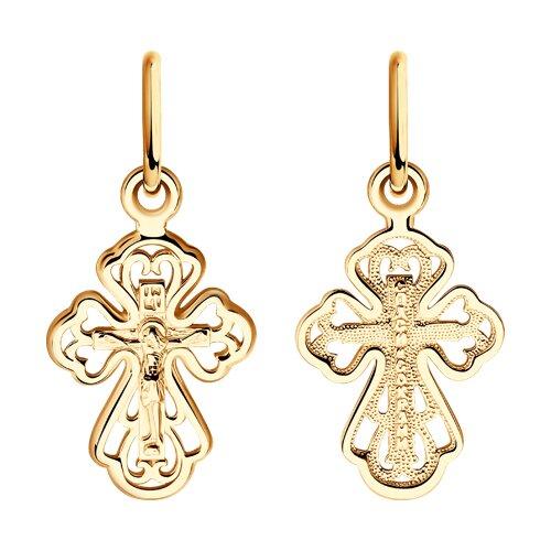 Крест из золота 121379 sokolov фото