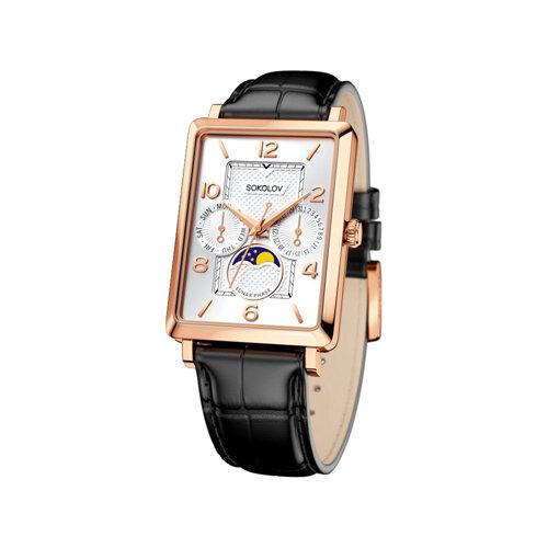 Мужские золотые часы (233.01.00.000.05.01.3) - фото