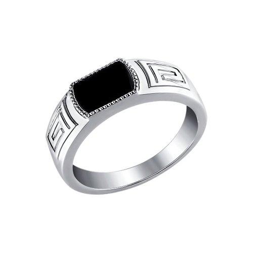 Серебряное мужское кольцо SOKOLOV
