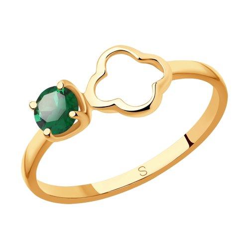 Кольцо из золота (715604) - фото