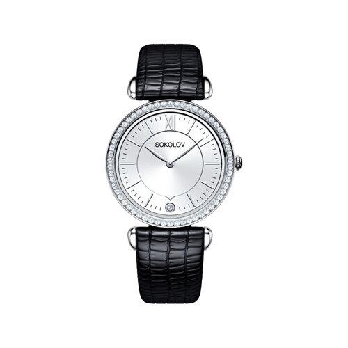 Женские серебряные часы (106.30.00.001.01.01.2) - фото №2
