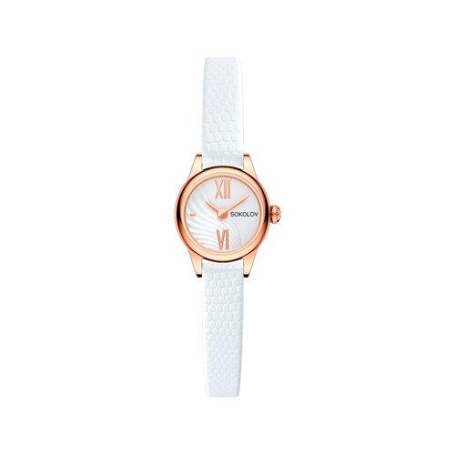 Женские золотые часы (211.01.00.000.04.02.3) - фото №2