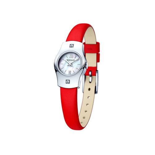 Женские серебряные часы (123.30.00.001.02.03.2) - фото