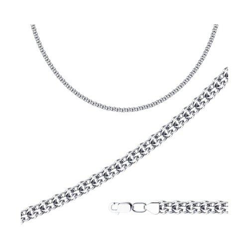 Цепь из серебра с алмазной гранью (968290604) - фото