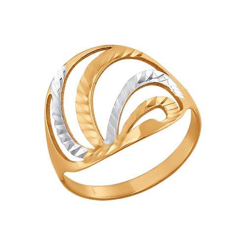 Кольцо SOKOLOV из золота дуги с алмазной гранью цена 2017