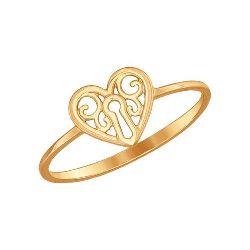 Кольцо «Love» SOKOLOV из золота кольцо sokolov из золота love you