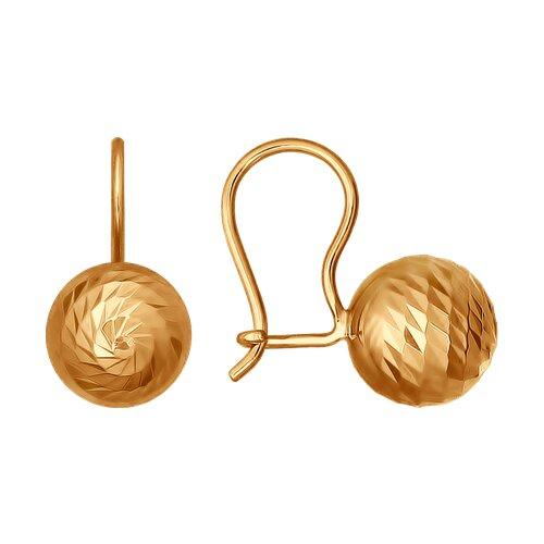 Серьги из золота (026754) - фото