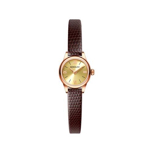 Женские золотые часы (211.01.00.000.02.03.3) - фото №2