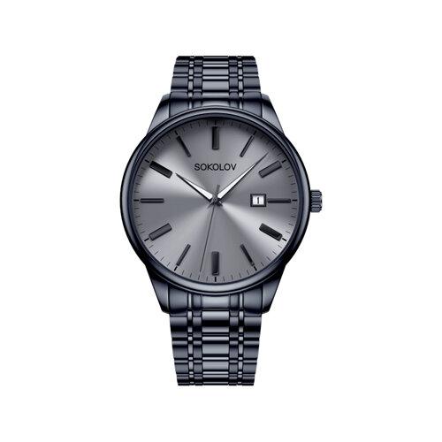 Мужские стальные часы (313.75.00.000.03.02.3) - фото №2