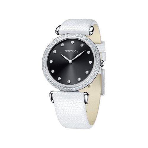 Женские серебряные часы (106.30.00.001.07.02.2) - фото