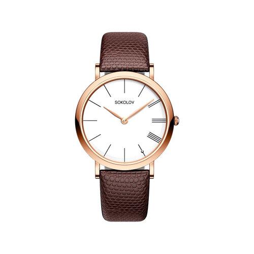 Женские золотые часы (204.01.00.000.01.03.2) - фото №2