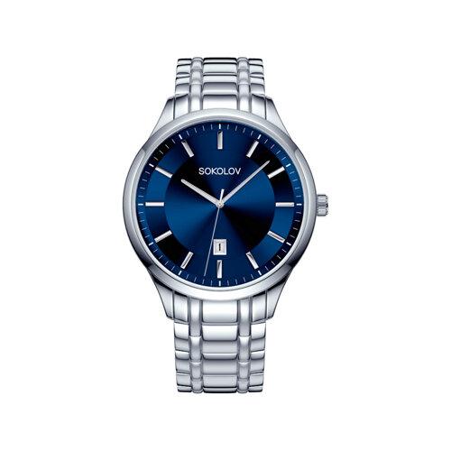 Мужские стальные часы (312.71.00.000.02.01.3) - фото №2