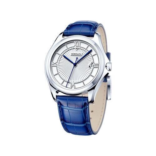 Мужские серебряные часы (135.30.00.000.01.02.3) - фото