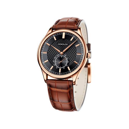 Мужские золотые часы (237.01.00.000.05.03.3) - фото