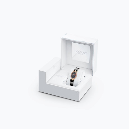 Женские золотые часы (236.01.00.001.04.04.2) - фото №2