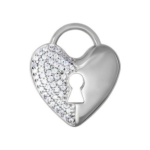 Подвеска «Замок от сердца» SOKOLOV из белого золота беда от нежного сердца 2018 09 23t18 00 page 1