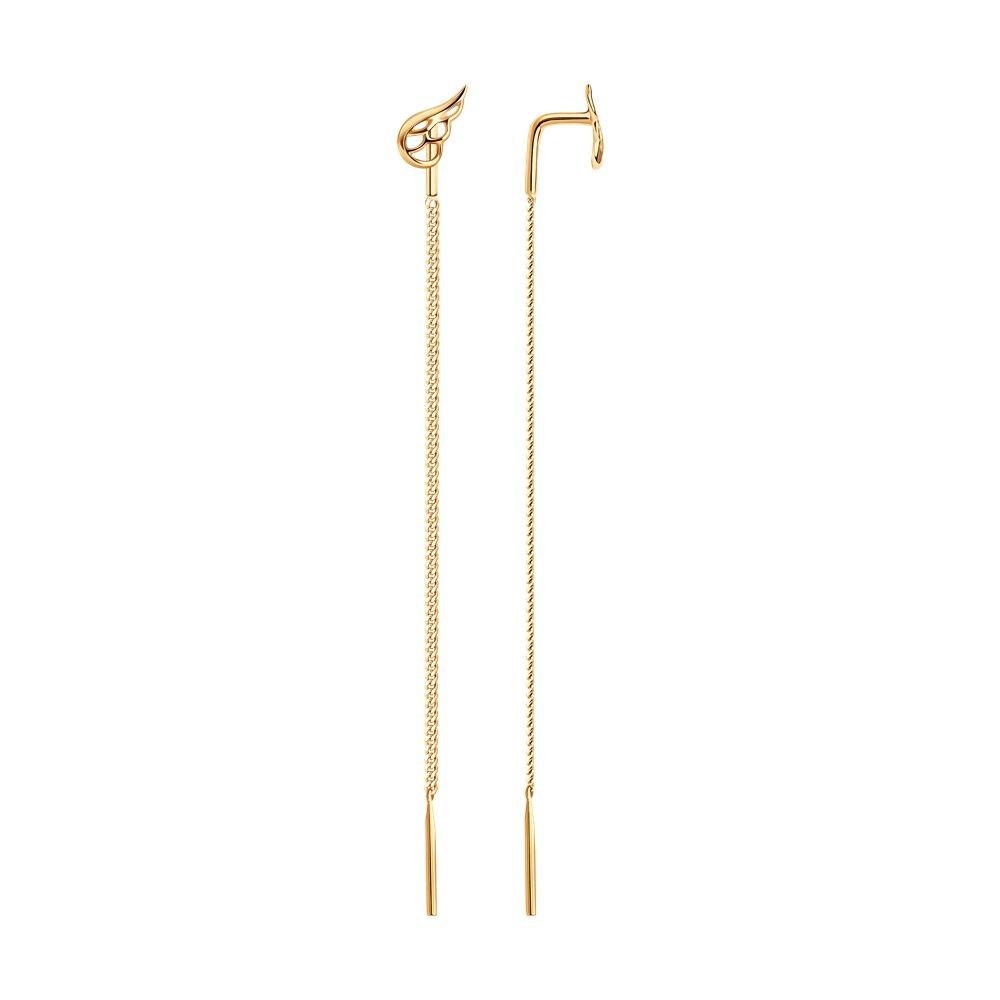 Серьги-цепочки SOKOLOV из золота